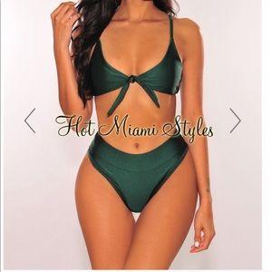 Hot Miami Styles Emerald Bikini